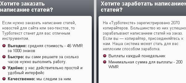 turbotext Краткий обзор бирж копирайтинга. Лучшие биржи копирайтинга для начинающих копирайтеров